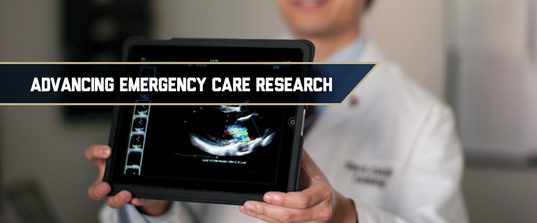 Advancing Emergency Care Research