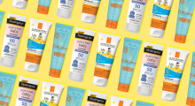 Sunscreen collage