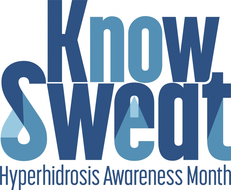 Know Sweat - Hyperhidrosis Awareness Month