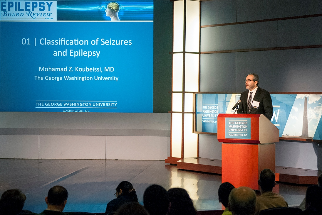 Speaker Mohamad Z. Koubeissi, MD on Classification of Seizures and Epilepsy