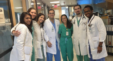 Dr. Mohamad Alkadi with colleagues