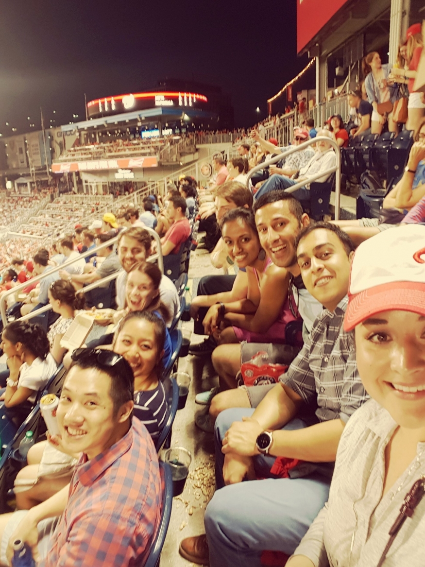 Residents at Washington Nationals - 2017