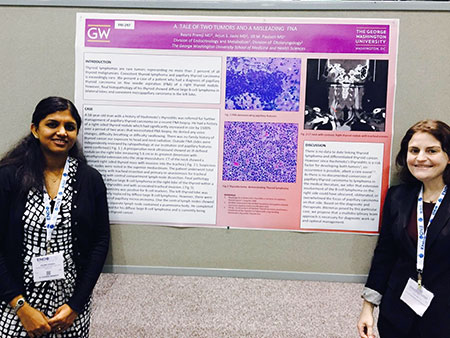 Endocrine fellows with poster