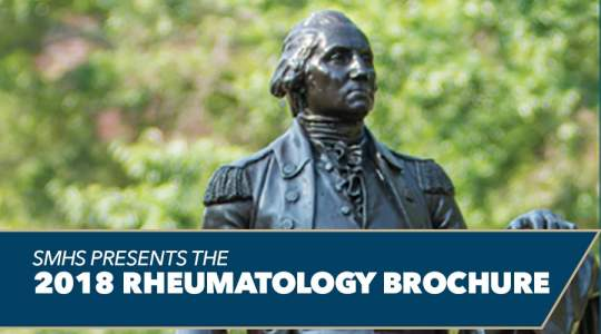 SMHS Presents The 2018 Rheumatology Brochure