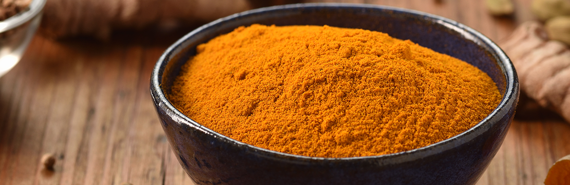 Bowl of tumeric