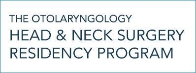 From the Program Director | The Otolaryngology Head & Neck