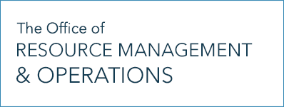The Office of Resource Management and Operations