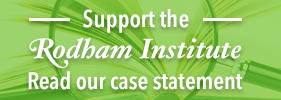 Support the Rodham Institute - Read our Case Statement