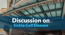 Discussion on Sickle Cell Disease Event Banner