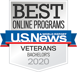 Best Veteran's Bachelor Program US News and World Report 2020