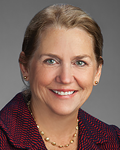 Barbara Bass, MD, Dean of the GW School of Medicine and Health Sciences, CEO of the GW Medical Faculty Associates