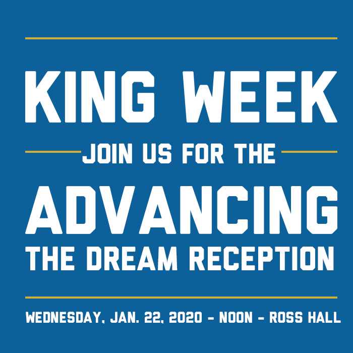 Dr. MLK Week Event Banner