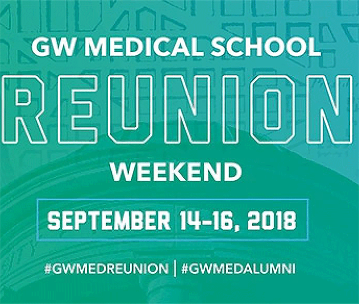 Reunion Weekend Event Banner 2018