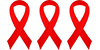 HIV Red Ribbons