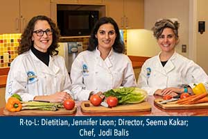Culinary Medicine course instructors