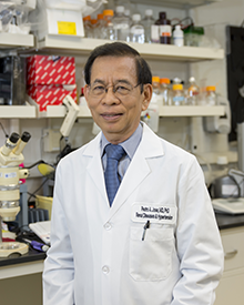 Pedro A. Jose, M.D., Ph.D.,  professor of medicine and pharmacology and physiology at the GW School of Medicine and Health Sciences