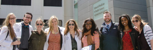 Group of MD students