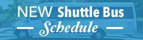 New Shuttle Bus Schedule
