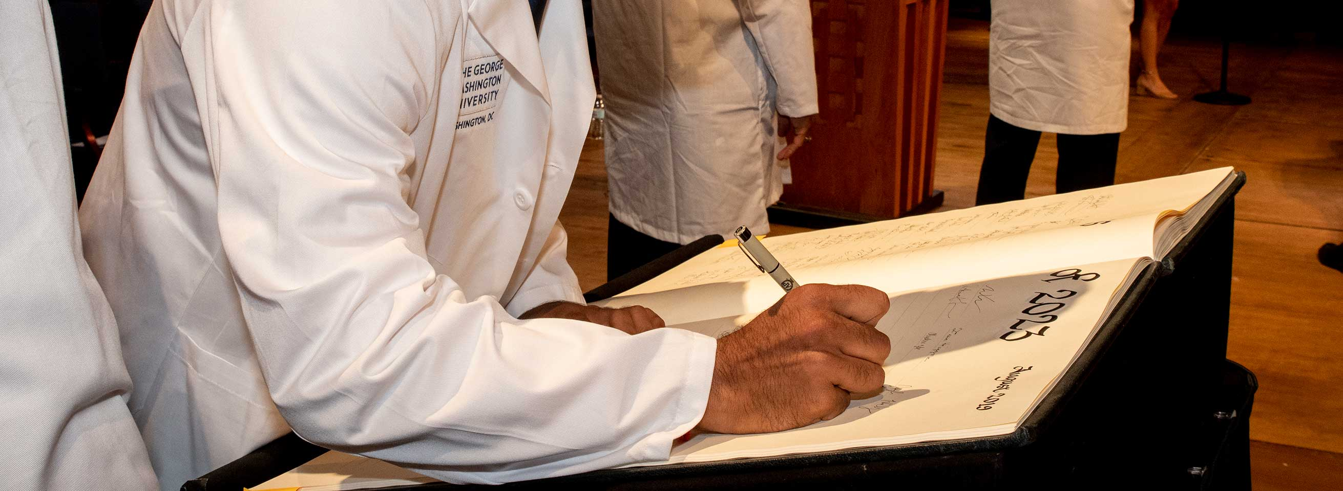 Signing the White Coat Book 2019