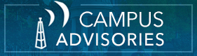 Campus Advisories