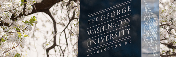 George Washington University pillar
