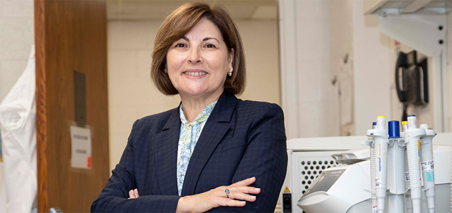 Antonia R. Sepulveda, MD, PhD, chair of the Department of Pathology at the GW School of Medicine and Health Sciences