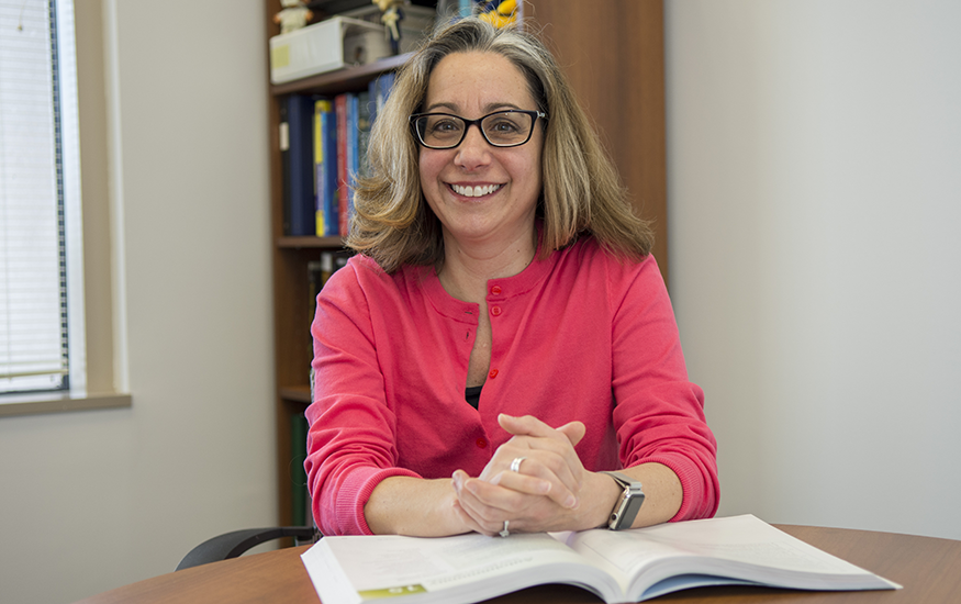 Marcia Firmani, PhD, MSPH, chair OF the Department of Biomedical Laboratory Sciences at the GW School of Medicine and Health Sciences