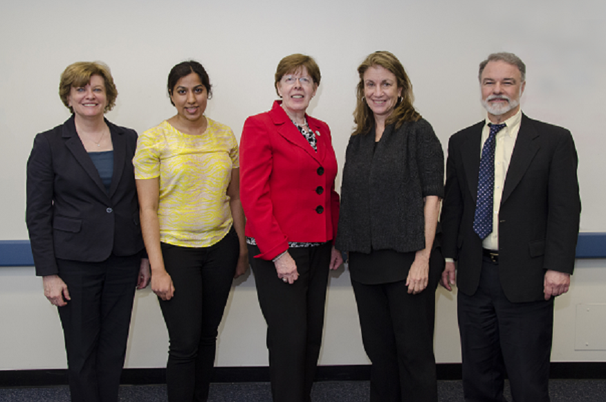 Kenna Peusner, Ph.D.; Kavita Gupta; Susan Koering; Rhonda Goldberg, M.A.; and Vincent Chiappinelli, Ph.D.