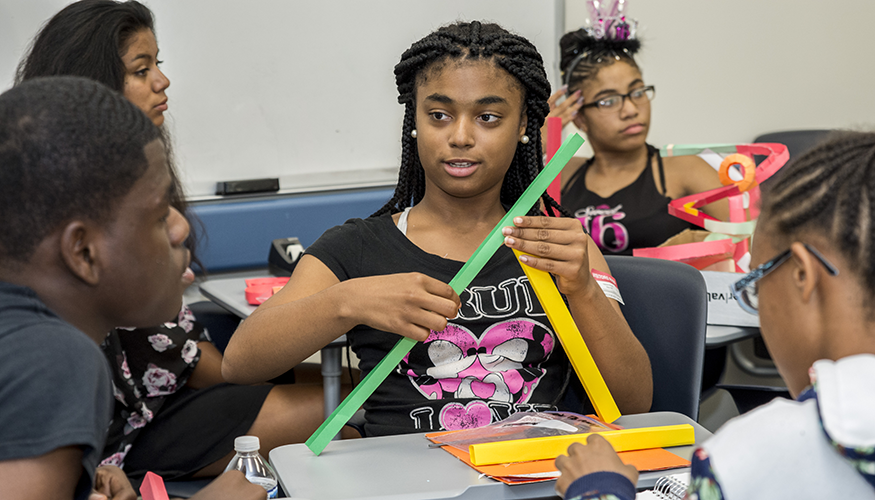 Upward Bound provides access and exposure for students who will be the first generation in their family to attend college