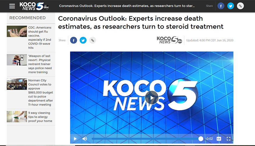 Hearst TV - Experts Increase Death Estimates, as Researchers Turn to Steroid Treatment