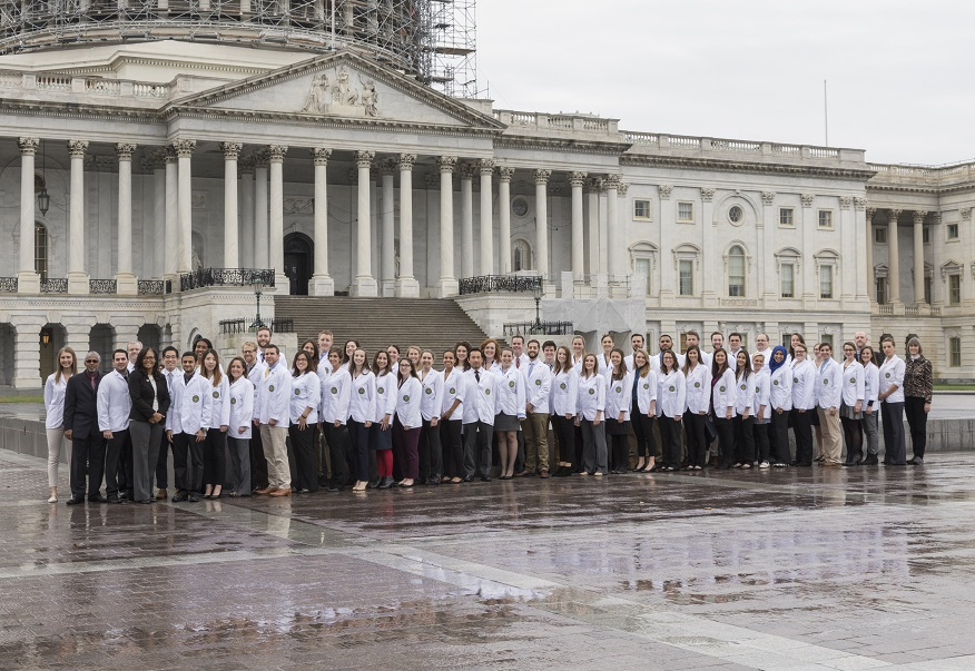 Physician assistants advocate for the profession on Capitol Hill.