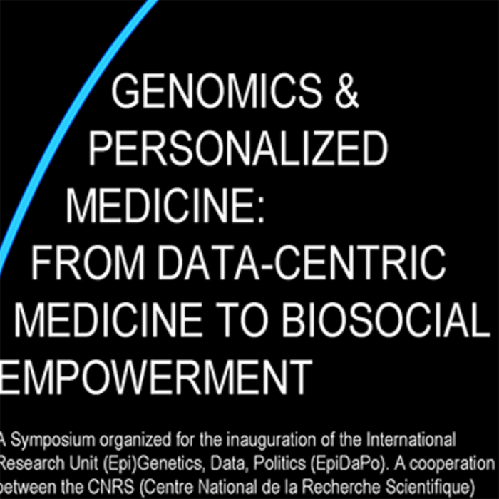 Genomics and Personalized Medicine: From Data-Centric Medicine to BioSocial Empowerment Event Banner