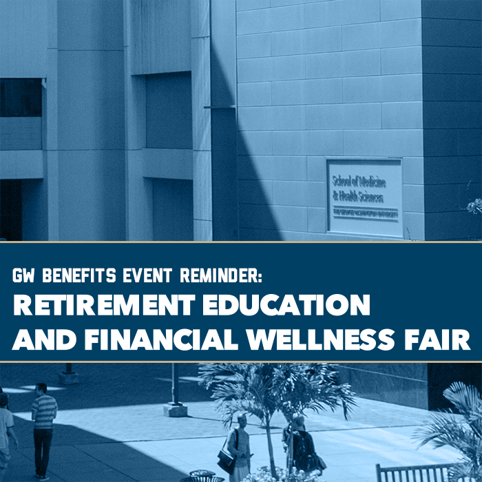 Retirement Education and Financial Wellness Fair Event Banner