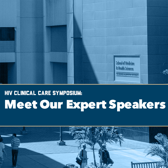 HIV Clinical Care Symposium: Meet Our Expert Speakers Event Banner