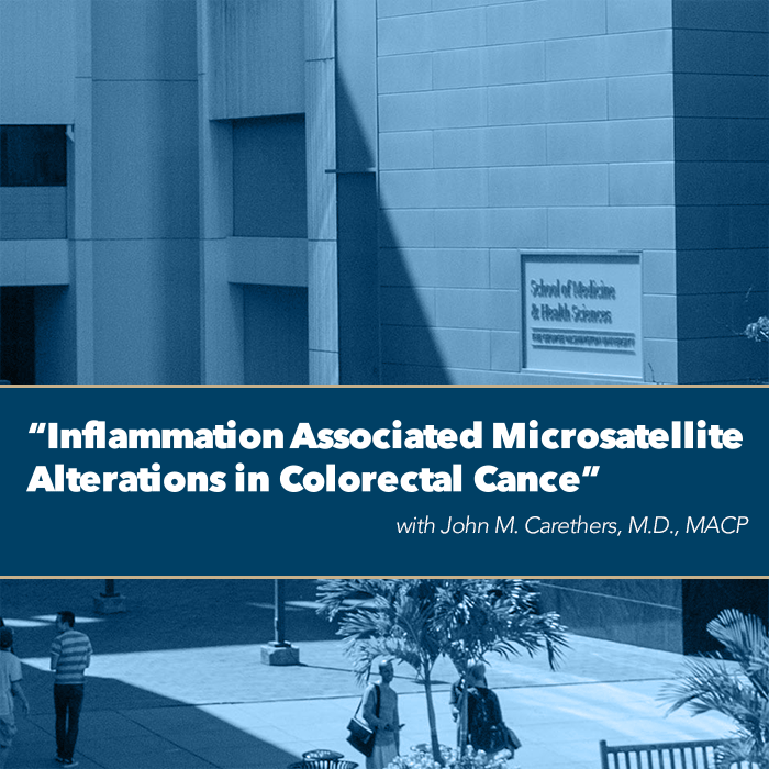 Inflammation Associated Microsatellite Alterations in Colorectal Cancer Event Banner