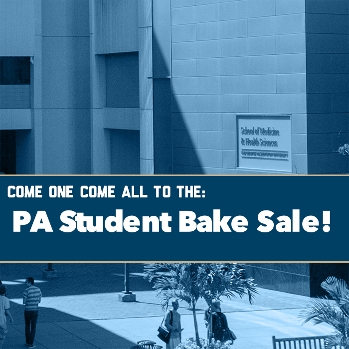 PA Student Bake Sale Event Banner