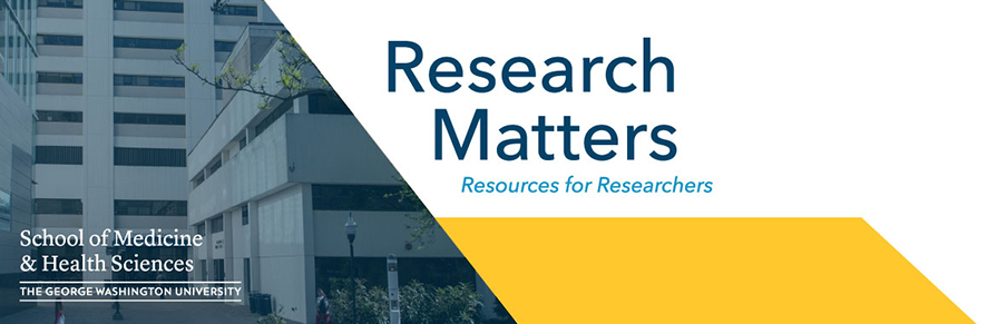 Research Matters Blog Website