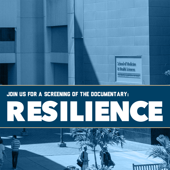 Resilience Documentary Discussion Event Banner
