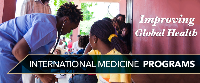 Improving Global Health - International Medicine Programs