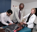 The newly updated center gives medical students training with standardized patients and simulated training equipment.