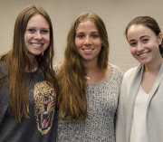 GW Medical students get together for lunch during Family Tree Day