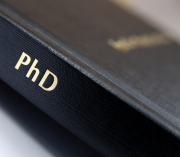 Image of PhD dissertation book
