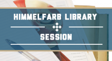 Himmelfarb Library Session: The ABCs of Systematic Reviews [WebEx]
