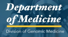 Department of Medicine, Division of Genomic Medicine Event
