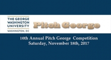 10th Annual Pitch George Competition