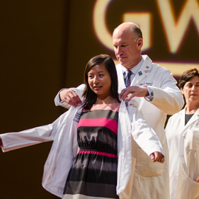 M.D. White Coat Ceremony | The School of Medicine & Health ...