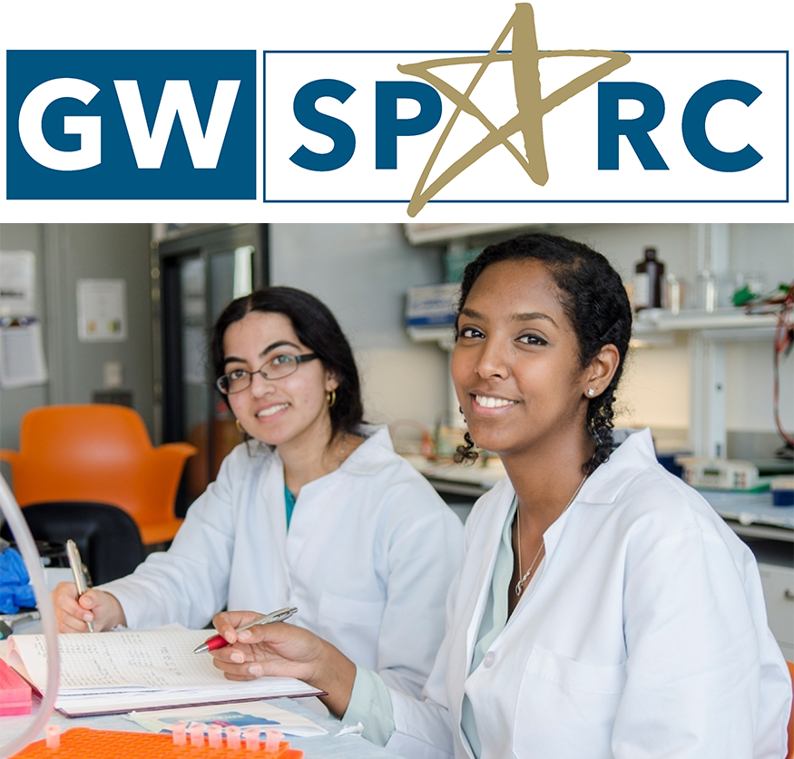 GWSPARC Logo With Students