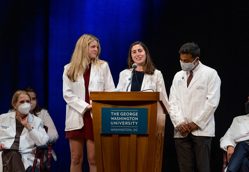Second-Year MD students welcome Class of 2025