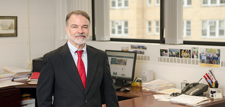 Vincent Chiappinelli, Ph.D., associate vice president for health affairs and associate dean at the GW School of Medicine and Health Sciences