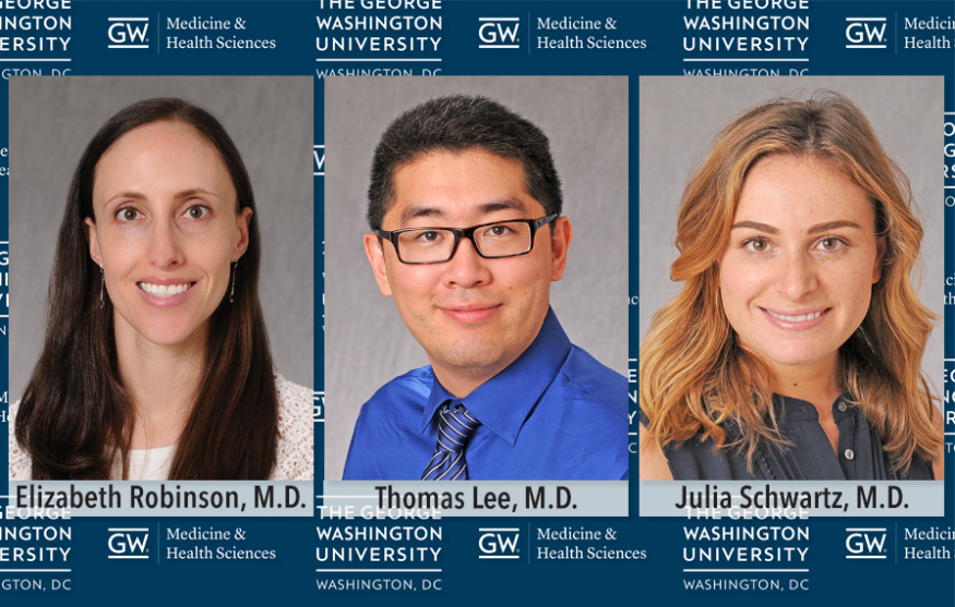Award-winning dermatology residents